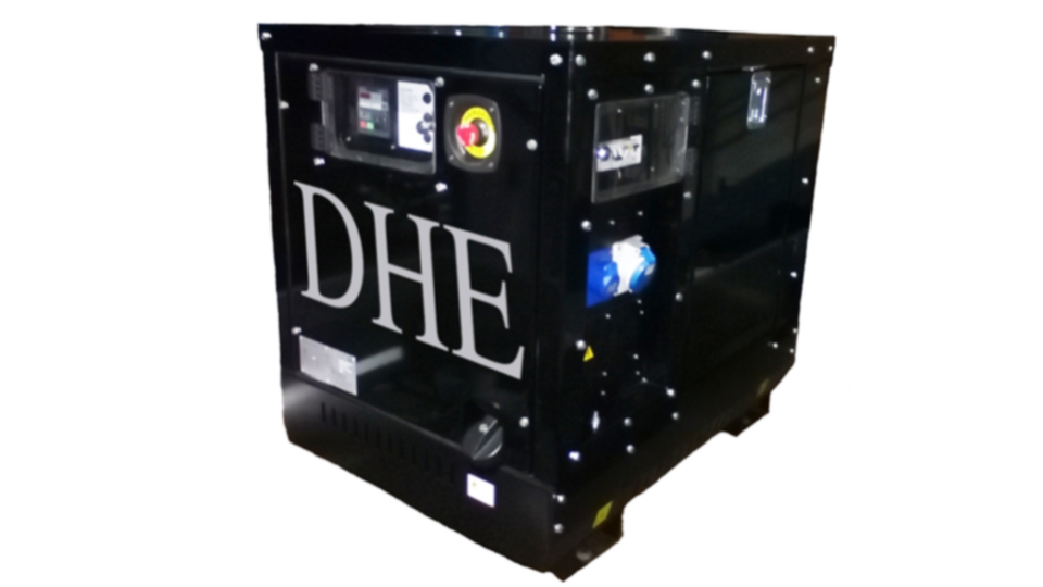 Buckinghamshire Stage Hire 8KVA Ultra Silent Road Towable Diesel Generator