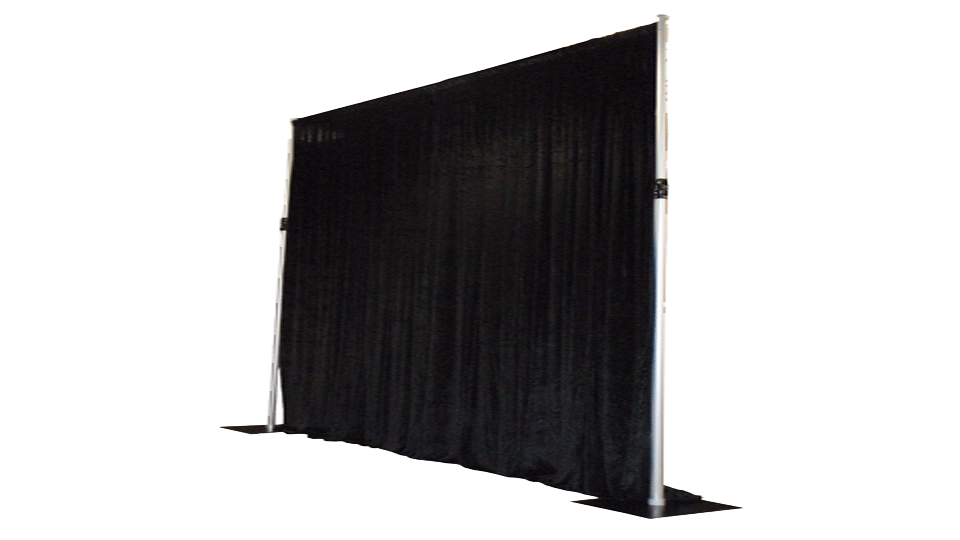 Catwalk Hire 2 with drapes